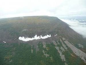 The Putorana Plateau is composed of Siberian Traps