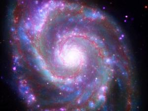 Image credit: X-ray: NASA/CXC/Wesleyan Univ./R. Kilgard; UV: NASA/JPL-Caltech; Optical: NASA/ESA/S. Beckwith & The Hubble Heritage Team (STScI/AURA); IR: NASA/JPL-Caltech/Univ. of Az/R. Kennicutt