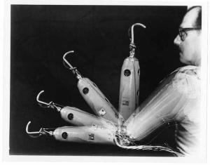 The Boston Arm, photo courtesy MIT Museum.