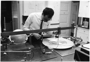 Frank Press. Photo courtesy MIT Museum.