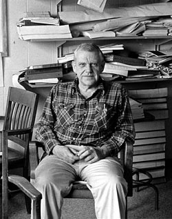 Henry Stommel. Photo by Vicky Cullen, Woods Hole Oceanographic Institution