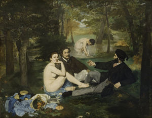 "Edouard Manet, ""Luncheon on the Grass"""